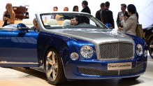 Bentley Grand Convertible presentacion