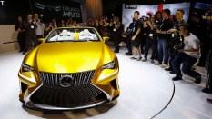 Lexus LF-C2 concept frente