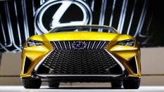 Lexus LF-C2 concept parrilla