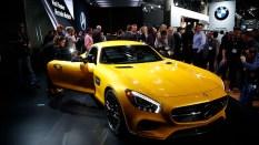 Mercedes Benz AMG GT S presentación