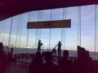 大桟橋ボール