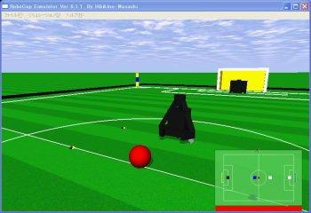 Hibikino-Musashi MSL Simulator