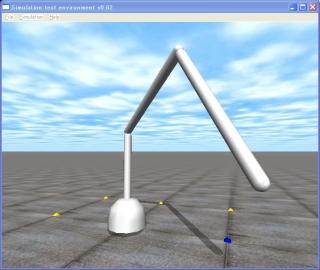 3関節ロボットアーム(ソースコードはたった100行)