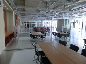 日露親善大会が開催されるホール