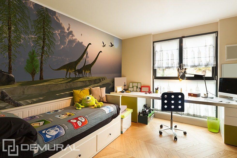 Grazie alle grafiche sempre più belle ed eleganti, la camera dei ragazzi può diventare un piccolo angolo di bellezza ed eleganza. Il Ritorno Alle Radici Preistoriche Carte Da Parati Camera Del Ragazzo Carte Da Parati Demural