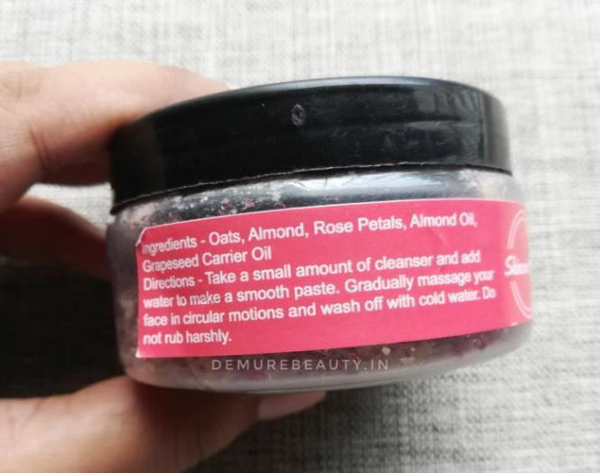 Skincare Villa Oats and Almond Cleanser review