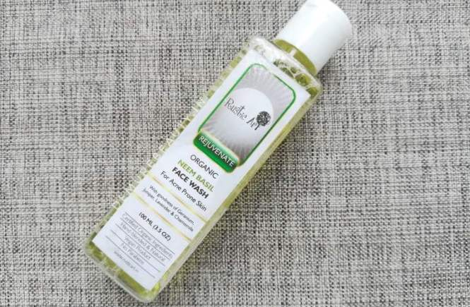 rustic art neem basil facewash review