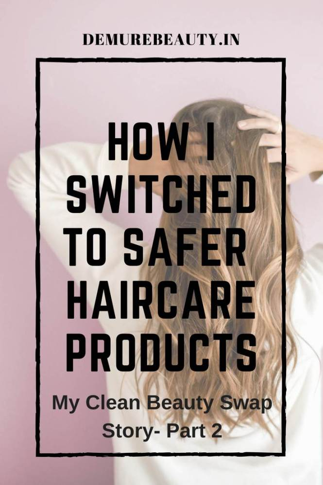 Clean haircare swap options for better hair health