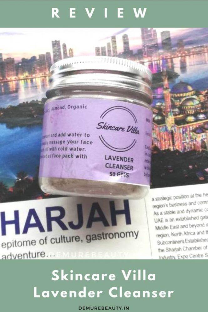 skincare villa lavender cleanser review
