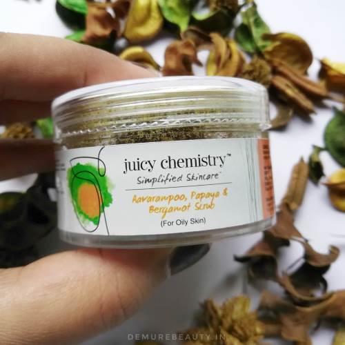 juicy chemistry avarampoo papaya bergamot scrub.jpg