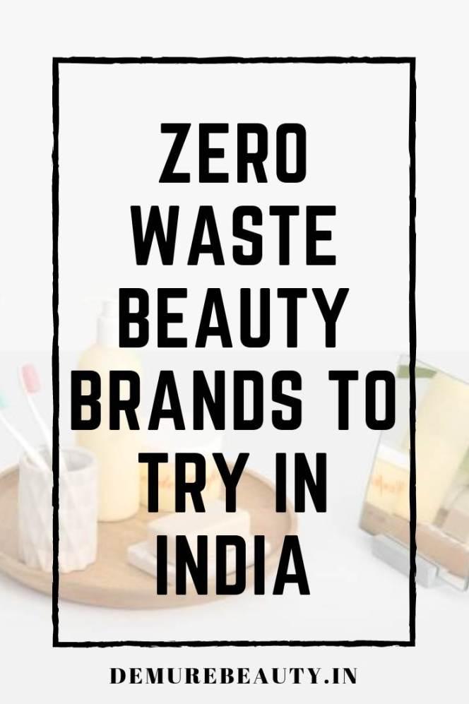 zero waste beauty brands india