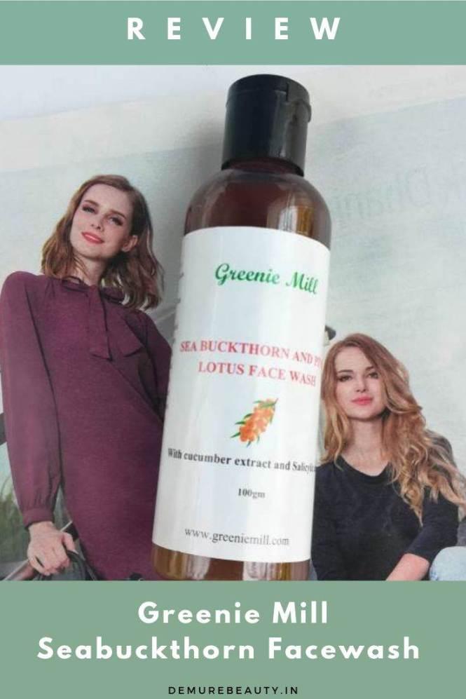greenie mill facewash for oily skin review