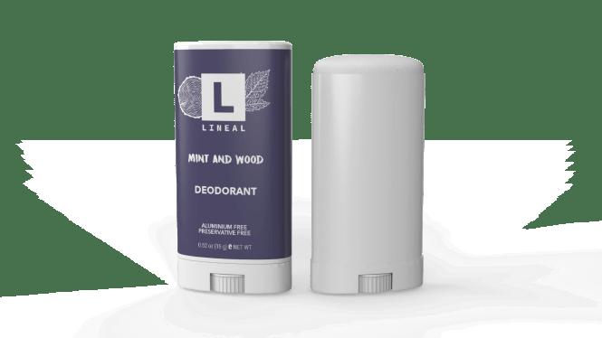 lineal natural deodorant