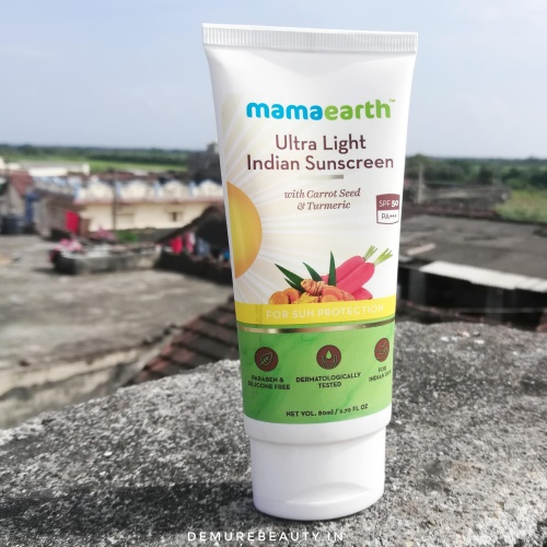 mamaearth ultra light sunscreen