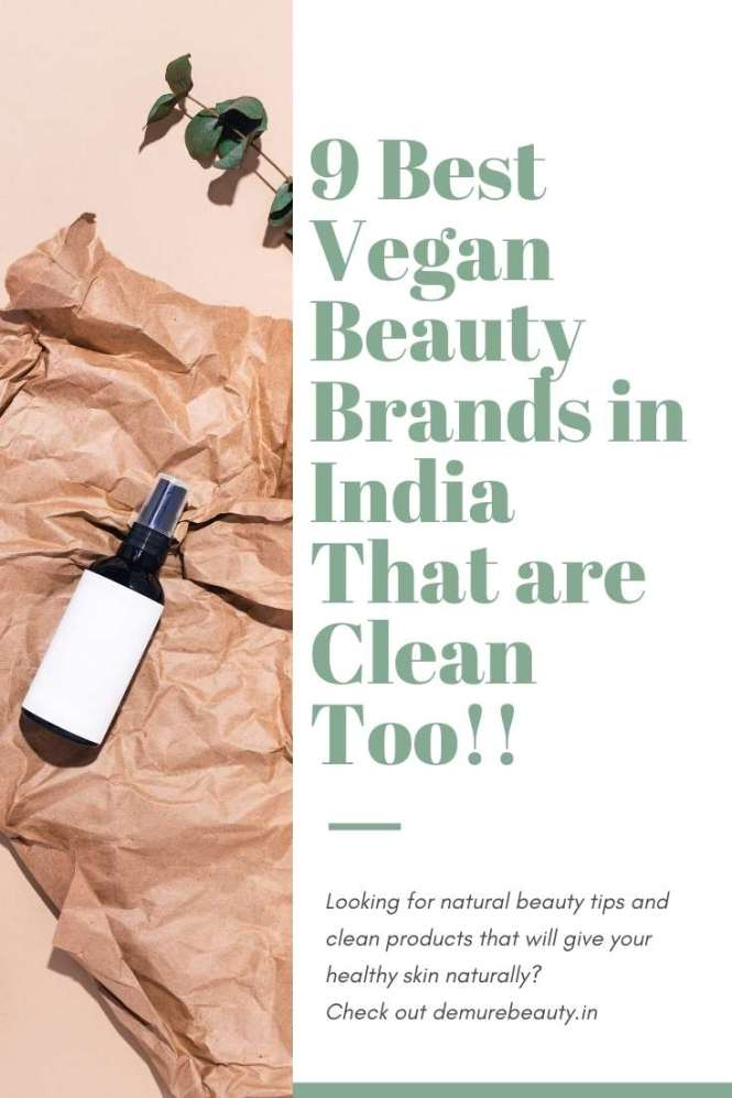 vegan beauty brand india cruelty-free, Clean and nontoxic beauty