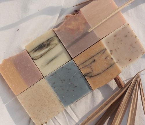 saej body handmade cold-pressed soaps in india