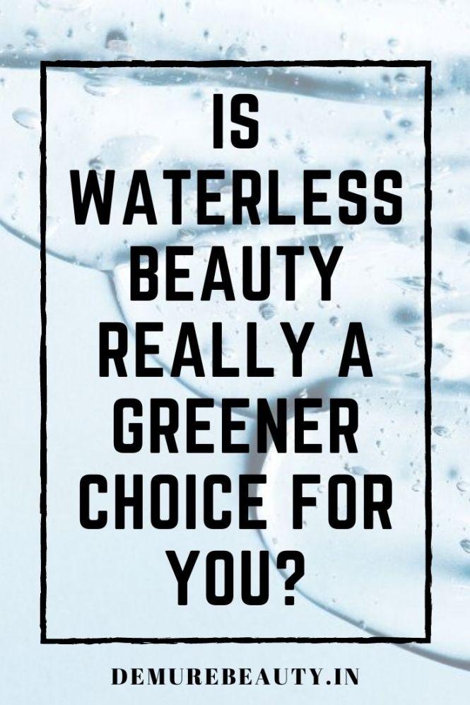 waterless beauty
