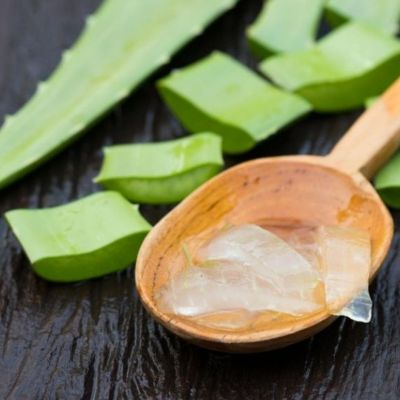 how to get glowing skin aloe vera gel mask