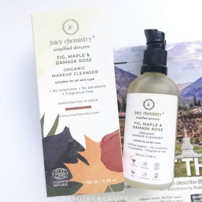 juicy chemistry natural makeup remover review