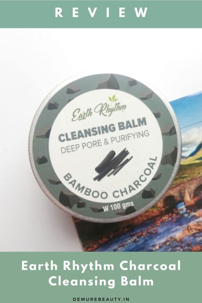 earth rhythm charcoal cleansing balm review
