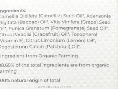 juicy chemistry grapefruit camellia body oil