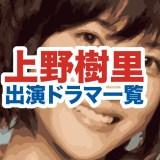 上野樹里の顔画像