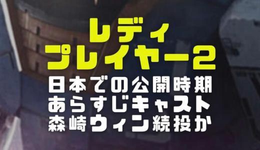 レディプレイヤー2の日本公開時期やあらすじとキャスト|森崎ウィンがダイトウ続投するか調査