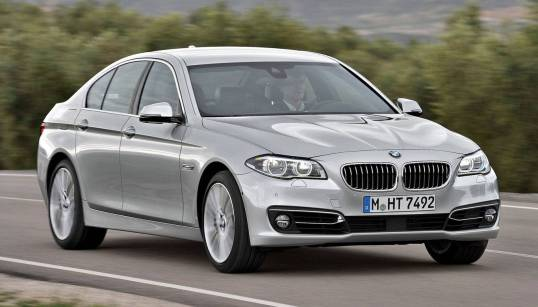 bmw 5 series - Cars of 2014