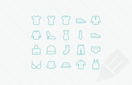 Clothing-Vector-Icons