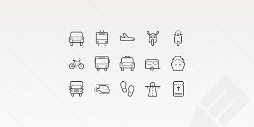 Free Transportation Vector Icons 5