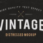 Freebie: Vintage and Grunge Text Effects