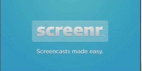 Screenr | Instant Screencasts: Just click record 1