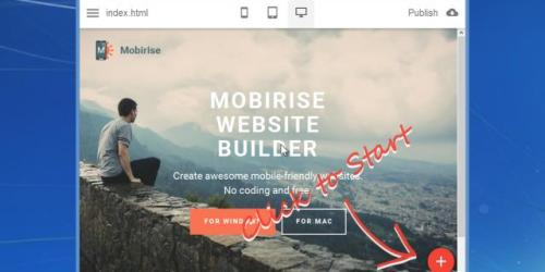 mobirise - Mobirise: Drop-Dead Easy Mobile Friendly Website Builder