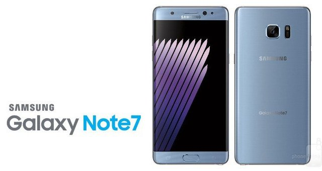 Samsung Galaxy Note 7 is coming back as a refurbished device