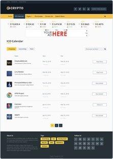 icos - CRYPTO – Bitcoin and Cryptocurrency WordPress Theme