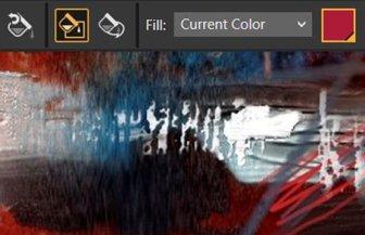 dark user interface - Corel Painter 2019 -Digital Art and Painting Software
