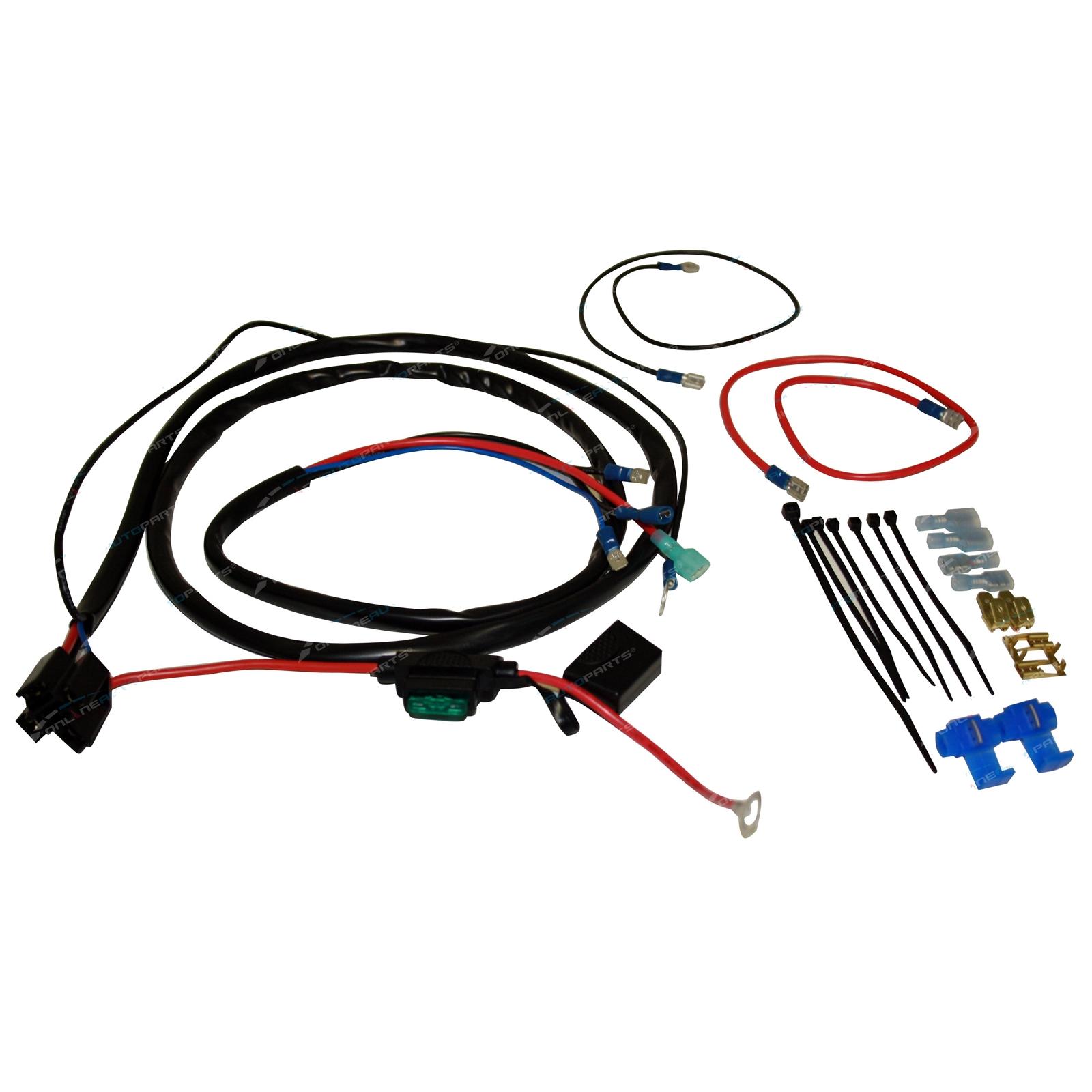 136db high power stebel magnum twin electric horn wiring harness car bike loud