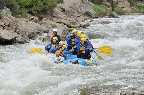 White water rafting in Breckenridge