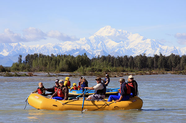 Raft Tours Talkeetna Alaska