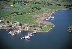 Port Denarau Marina in 1999