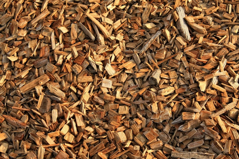 mulchen met houtsnippers