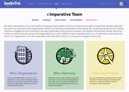 Team Profile Sample