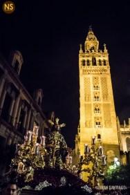 Oración en el Huerto de Monte-Sión. Viacrucis de Sevilla 2017 | Francisco Santiago