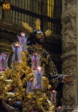Oración en el Huerto de Monte-Sión. Viacrucis de Sevilla 2017 | Baltasar Núñez