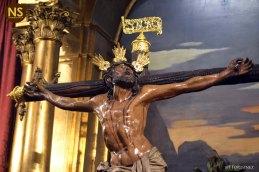 Cristo de la Expiración del Museo. Besapiés 2017   Javier Fortúnez