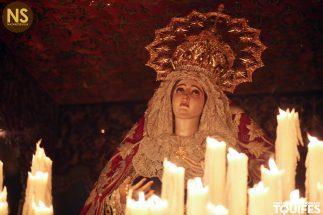 Madre de Dios de la Palma. Cristo de Burgos. Miércoles Santo 2017 | Tomás Quifes