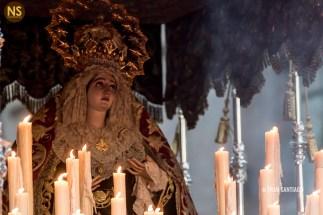 Madre de Dios de la Palma. Cristo de Burgos. Miércoles Santo 2017 | Francisco Santiago