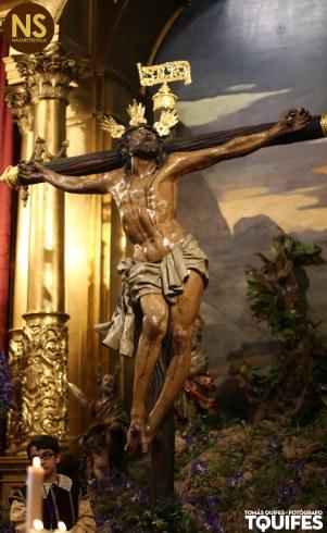 Cristo de la Expiración del Museo. Besapiés 2017   Tomás Quifes