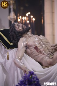 Cristo de la Caridad, Santa Marta. Besapiés 2017   Tomás Quifes