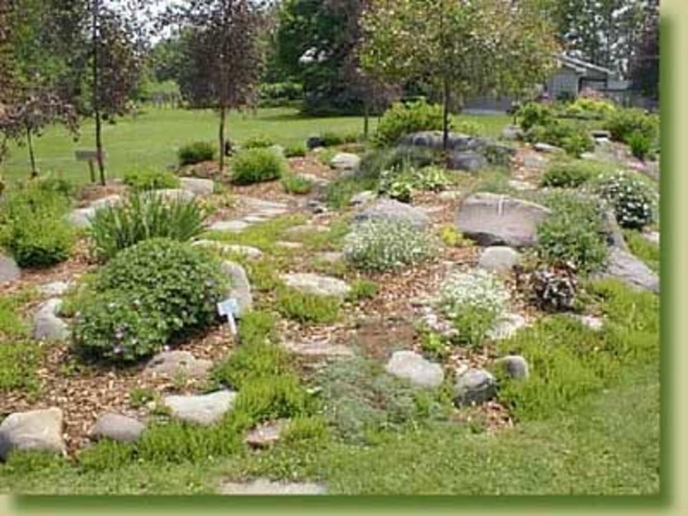 Landscaping Styles » DenBok Landscaping & Design on Rock Backyard  id=28216